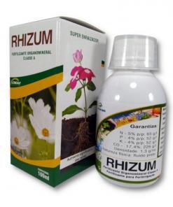 Fertilizante para plantas de vaso - Rhizum 100 ml